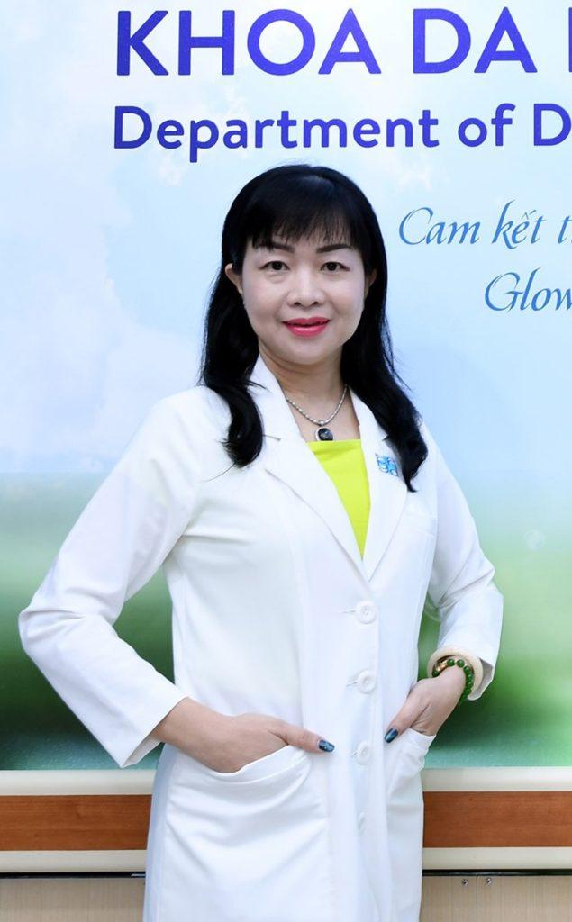 Bác sĩ da liễu Lê Thái Vân Thanh